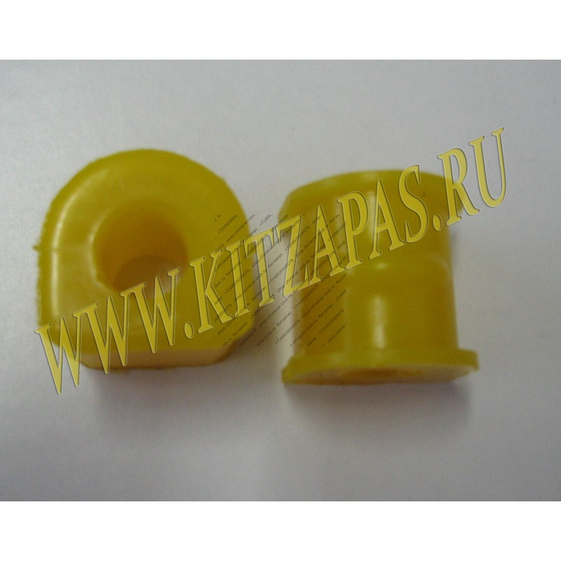 Втулка полиуретановая стабилизатора заднего ID 18mm (комплект 2 штуки) Great Wall Hover/Hover H3/Hover H5/Safe.  Аналог 2916012-K00
