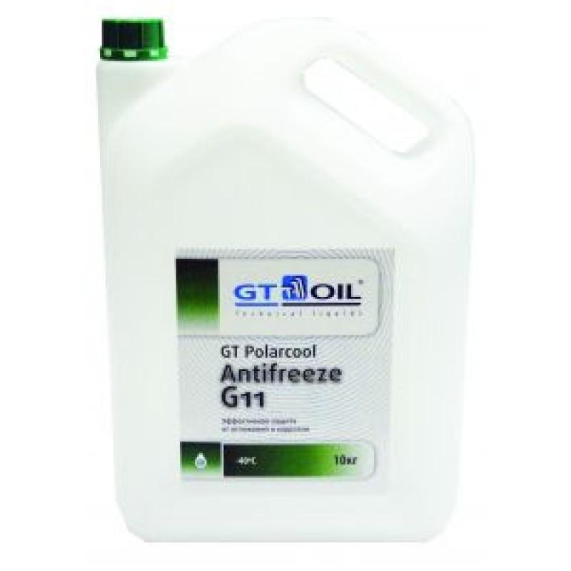 Антифриз GT Polarcool Antifreeze G11 зеленый (1кг)