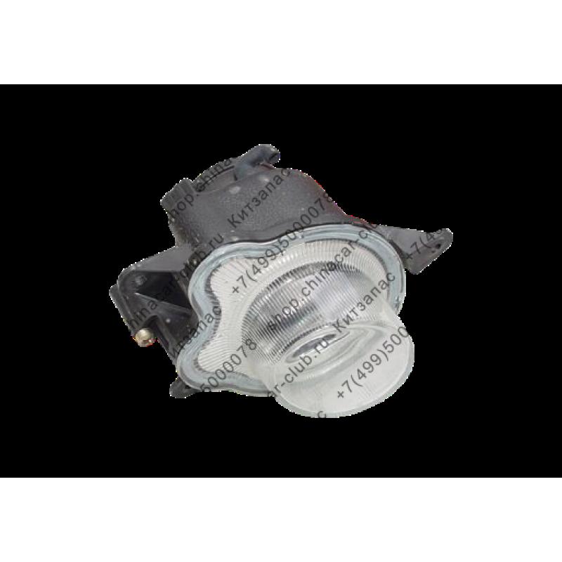 Фара противотуманная правая Amulet круглая A15-3732020BA