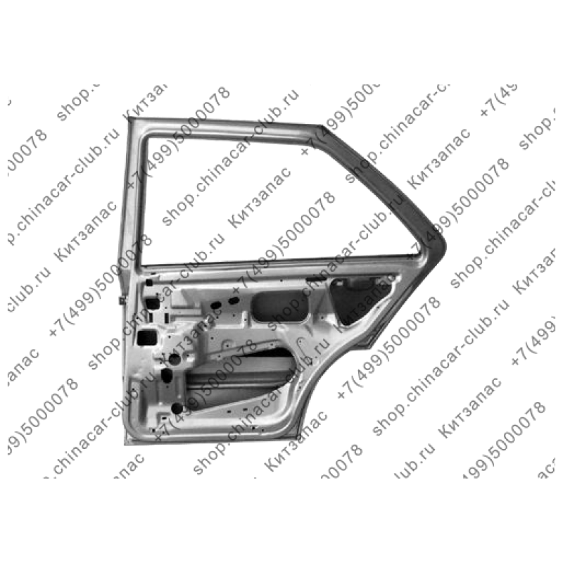 Дверь задняя правая Amulet A15-6201006-DY