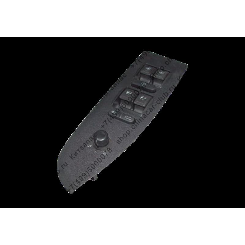 Блок кнопок управления стеклоподъемниками пер.лев. двери (дерев.)