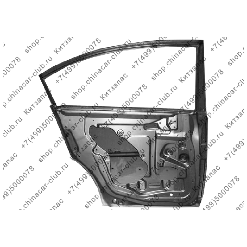 Дверь задняя левая Fora A21-6201010-DY
