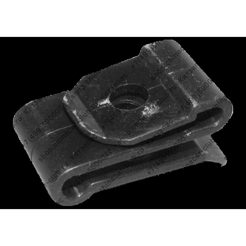 Скоба прижимная (пластик)