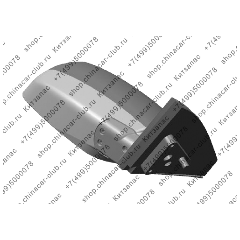 Зеркало заднего вида правое Tiggo T11-8202020-DQ