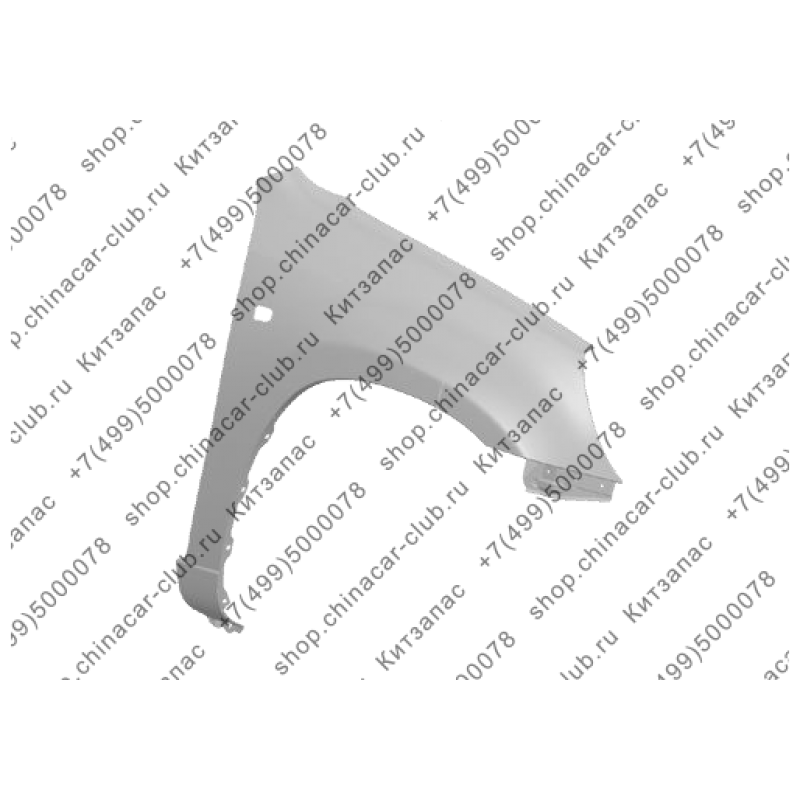 Крыло переднее правое Tiggo T11-8403702-DY
