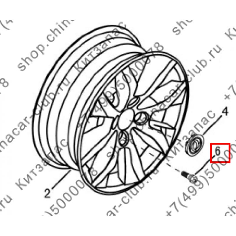 Болт колеса