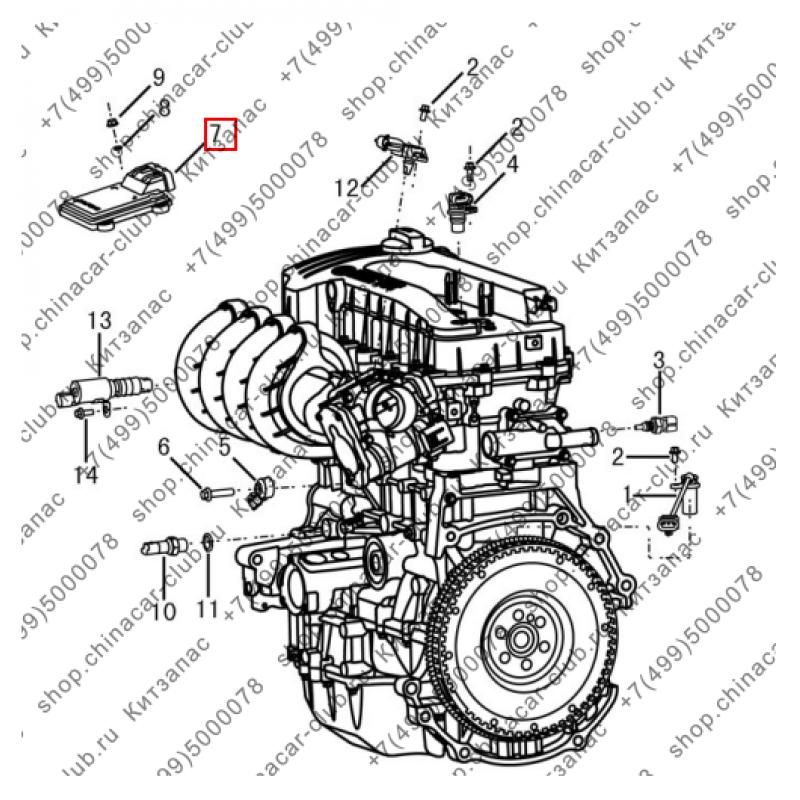 Блок управления двигателем мкпп