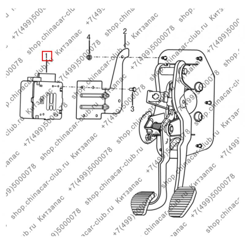 Блок управления рулевой рейки