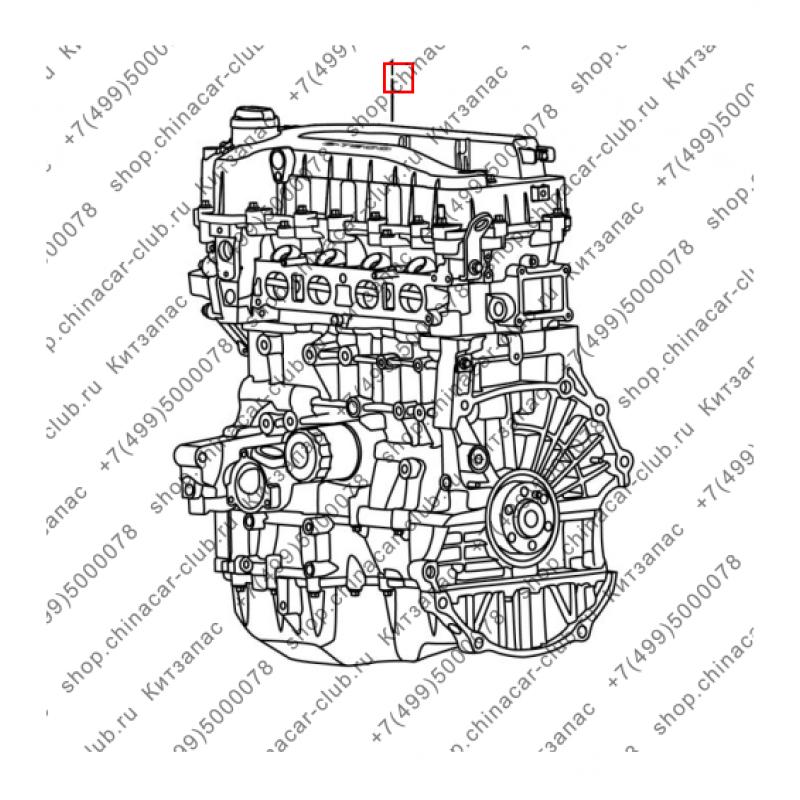 Двигатель e-teco 1.6л.