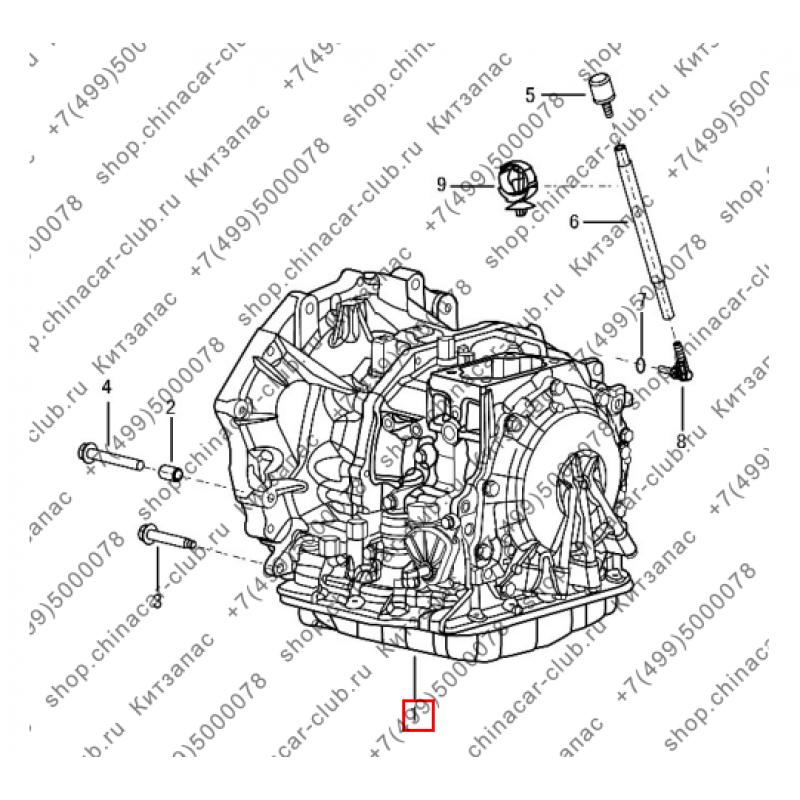 Коробка передач механическая