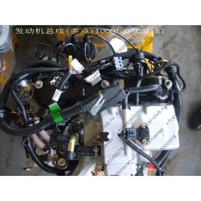 двигатель в сборе 491 бензин Great Wall Deer Safe 491q 2wd
