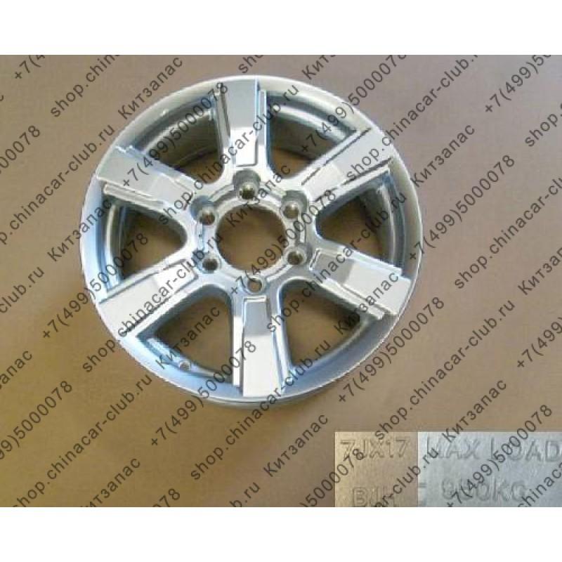 Диск колеса литой (6 спиц) h3, h5