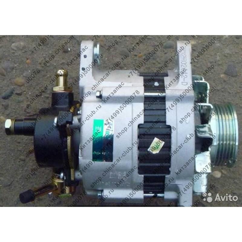 генератор Hover,Wingle дизель (поликлиновой ремень)