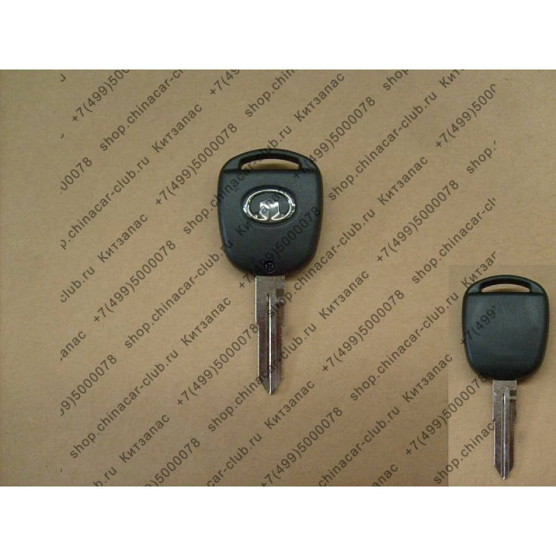 Заготовка ключа замка зажигания hover h3,h5 (без кнопок)