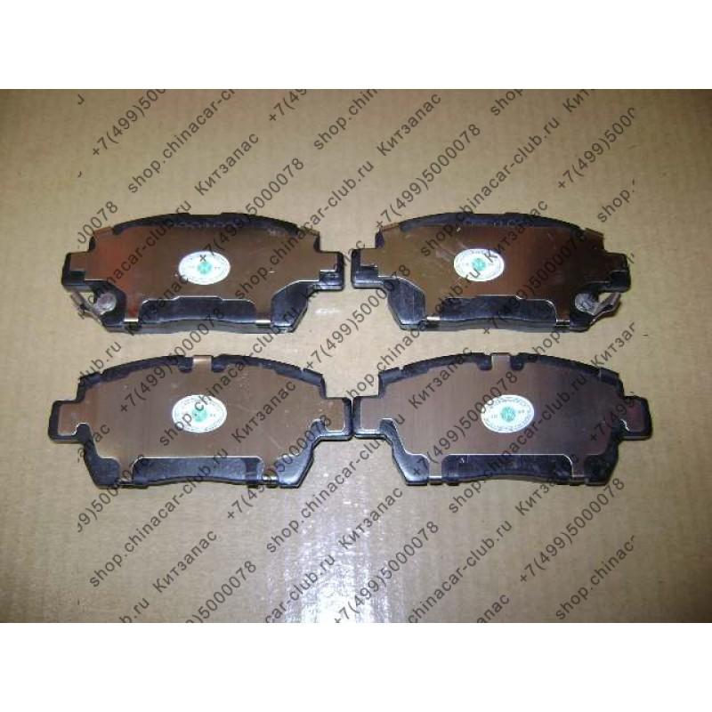 Колодки тормозные передние Florid, Coolbear, Peri, Hover M2 4/2, Hover M4 (Оригинал, Китай)