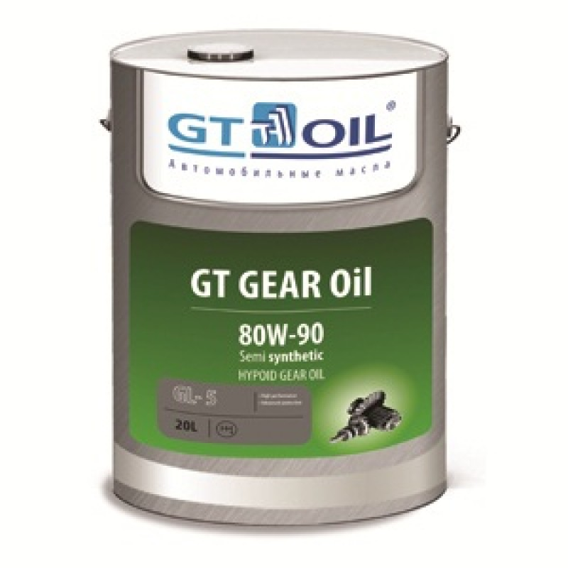 Масло трансмиссионное GT GEAR Oil, 80W-90, GL-5, 1л