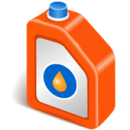 Oil and lubricating fluid