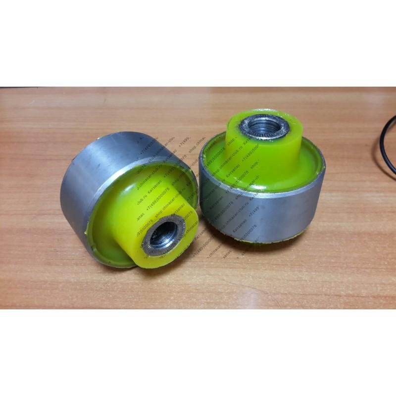 Сайлентблок полиуретановый переднего рычага задний (комплект 2 штуки) Chery Tiggo/Vortex Tingo/Lifan X60