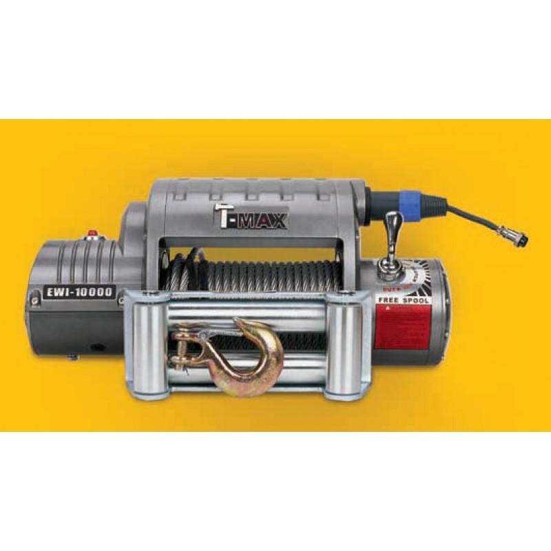 Лебедка автомобильная EWI-10000 (OUTBACK) 12 V (радиоуправление)
