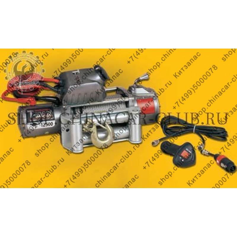 Лебедка автомобильная EW-12500 (OUTBACK) 12 V (радиоуправление)